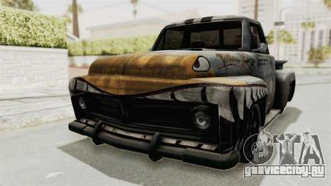 GTA 5 Slamvan Stock PJ2 для GTA San Andreas