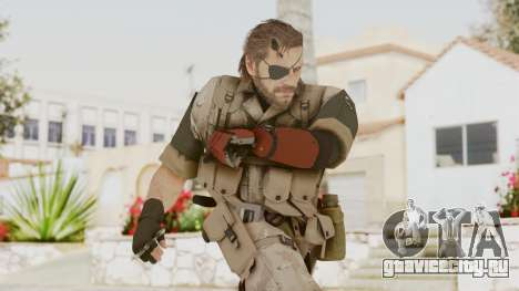 MGSV The Phantom Pain Venom Snake Desert для GTA San Andreas