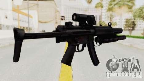 MP5SD with Grenade Launcher для GTA San Andreas второй скриншот
