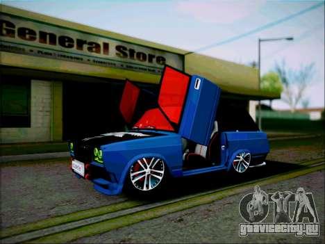 ВАЗ 2104 Микро для GTA San Andreas вид сзади слева