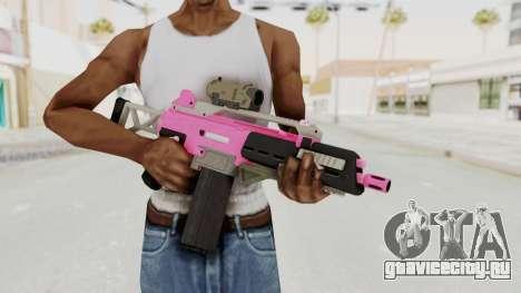 Special Carbine Pink Tint для GTA San Andreas третий скриншот