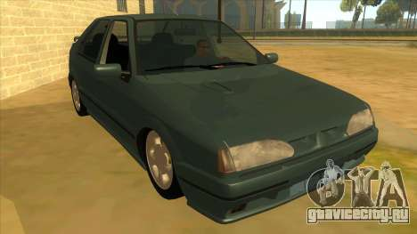 Renault 19 Coupe для GTA San Andreas вид сзади
