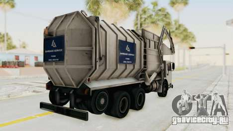New Trashmaster для GTA San Andreas вид слева