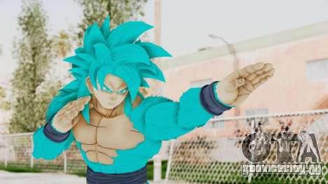 Dragon Ball Xenoverse Goku SSJ4 SSGSS для GTA San Andreas