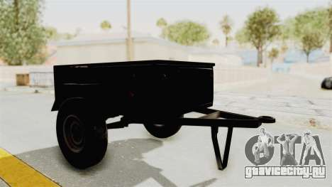 ГАЗ-704 Прицеп для GTA San Andreas вид сзади слева