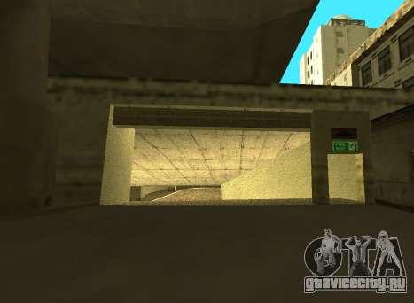LSPD New Garage для GTA San Andreas второй скриншот