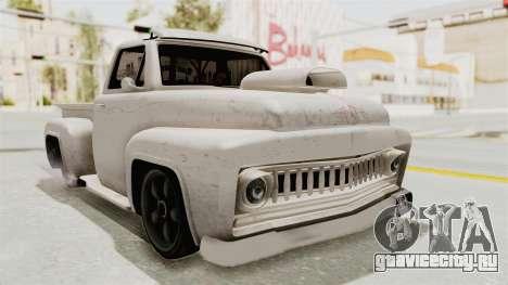 GTA 5 Slamvan Lowrider для GTA San Andreas