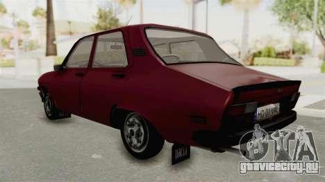 Dacia 1310 TX Realistica для GTA San Andreas вид сзади слева