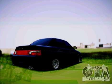 ВАЗ 2110 Злюка для GTA San Andreas вид слева