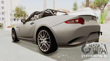 Mazda MX-5 Cup 2015 v2.0 для GTA San Andreas вид слева