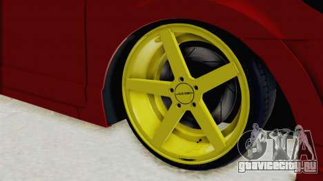 Honda Civic FD6 для GTA San Andreas вид сзади
