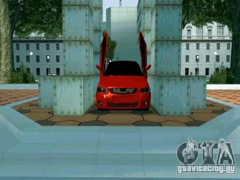 Lada Priora Lambo для GTA San Andreas вид сбоку
