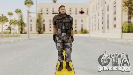 MGSV The Phantom Pain Venom Snake Sc No Patch v7 для GTA San Andreas второй скриншот