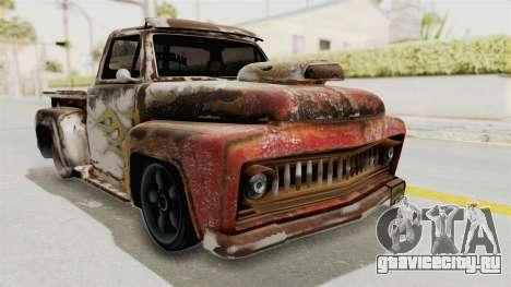 GTA 5 Slamvan Lowrider PJ2 для GTA San Andreas вид сзади