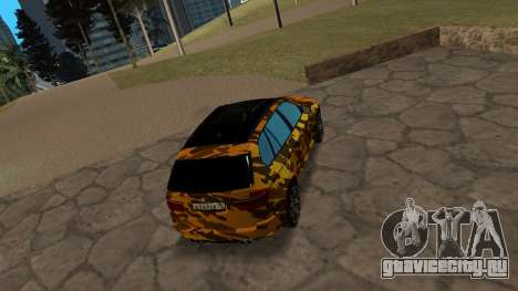 BMW X5M ( Davidich ) для GTA San Andreas вид справа