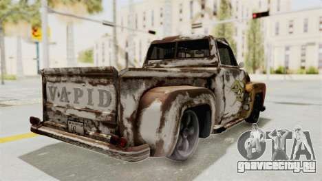 GTA 5 Slamvan Lowrider PJ2 для GTA San Andreas вид изнутри