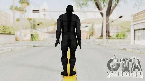 Mortal Kombat X Klassic Noob Saibot для GTA San Andreas третий скриншот