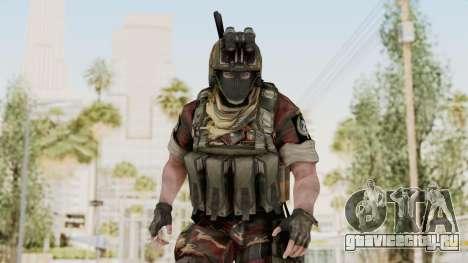 Battery Online Russian Soldier 3 v1 для GTA San Andreas
