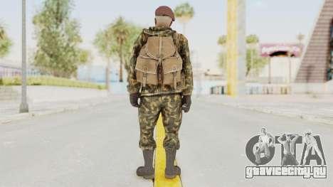COD Black Ops Russian Spetznaz v7 для GTA San Andreas третий скриншот