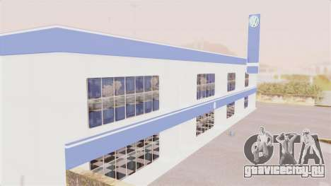 Volkswagen Showroom in San Fierro для GTA San Andreas второй скриншот