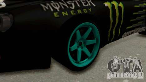 Toyota Celica GT Drift Monster Energy Falken для GTA San Andreas вид сзади