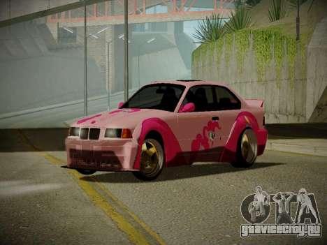 BMW M3 E36 Pinkie Pie для GTA San Andreas