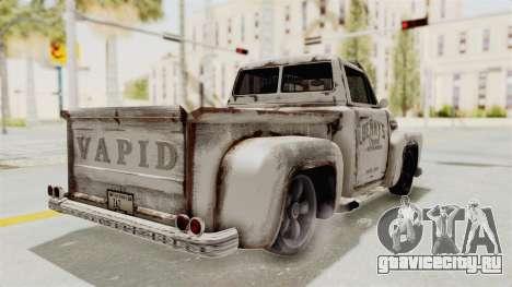 GTA 5 Slamvan Lowrider PJ2 для GTA San Andreas вид справа