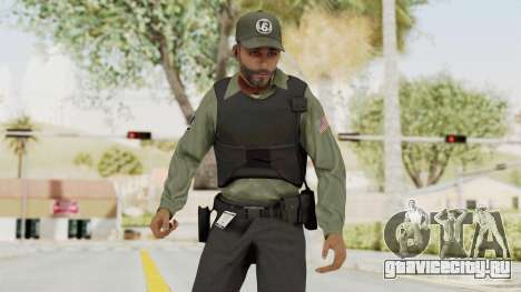 GTA 5 Security Man для GTA San Andreas