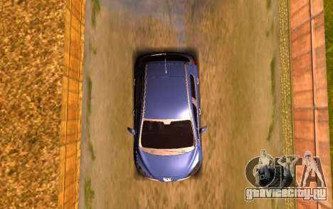 Iranian Peugeot 308 для GTA San Andreas вид сзади