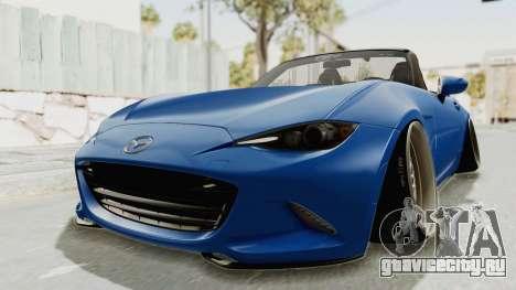 Mazda MX-5 Slammed для GTA San Andreas вид справа