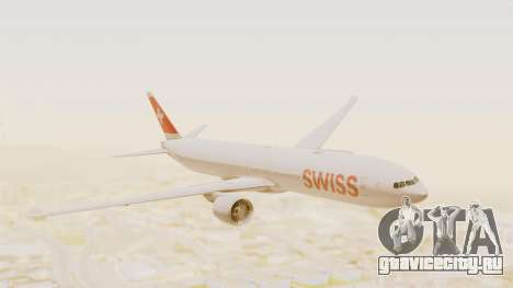 Boeing 777-300ER Swiss International Air Lines для GTA San Andreas