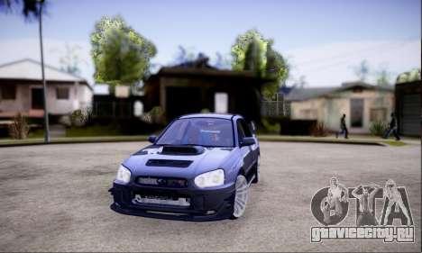 Subaru impreza WRX STi LP400 v2 для GTA San Andreas