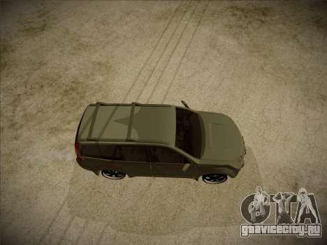 Great Wall Hover H2 2008 для GTA San Andreas вид справа