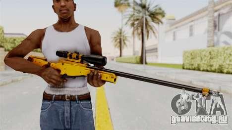 L96A1 Gold для GTA San Andreas третий скриншот