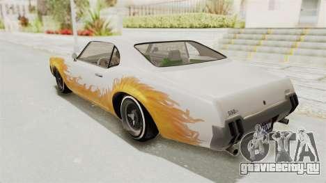 GTA 5 Declasse Sabre GT2 A IVF для GTA San Andreas колёса