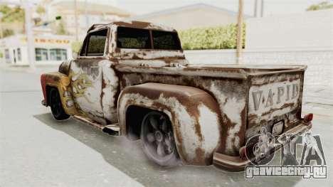 GTA 5 Slamvan Lowrider для GTA San Andreas вид изнутри