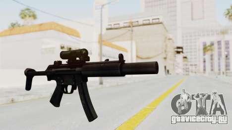 MP5SD для GTA San Andreas второй скриншот