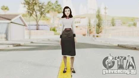Bioshock Infinite Burial at Sea Elizabeth для GTA San Andreas второй скриншот