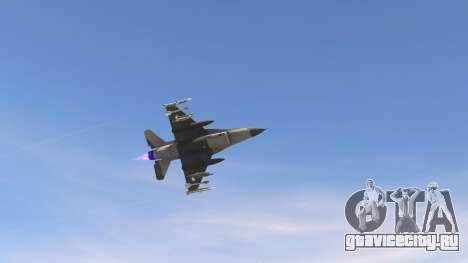 F-16C Block 52 для GTA 5 пятый скриншот