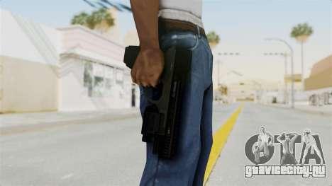 Killzone - M4 Semi-Automatic Pistol No Attach для GTA San Andreas третий скриншот
