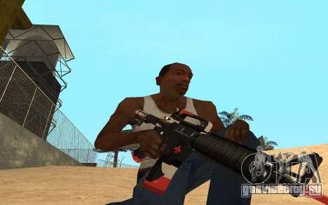 M4 Cyrex для GTA San Andreas третий скриншот
