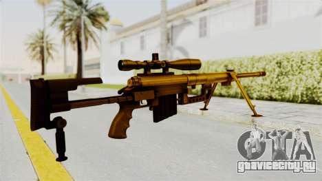 Cheytac M200 Intervention Gold для GTA San Andreas второй скриншот