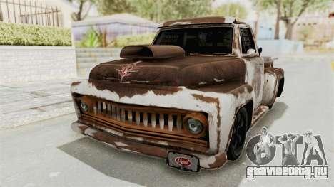 GTA 5 Slamvan Race PJ2 для GTA San Andreas вид сбоку