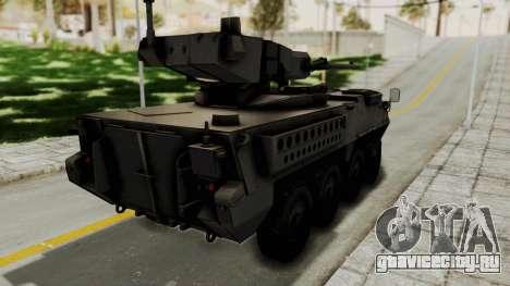 M1128 Mobile Gun System для GTA San Andreas вид слева