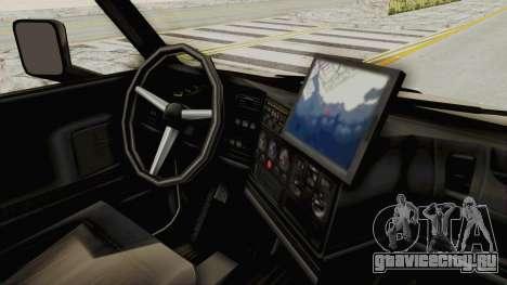 Chevrolet Kodiak Dumper Truck для GTA San Andreas вид сзади