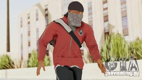 Battlefiled Hardline Professional Gang для GTA San Andreas