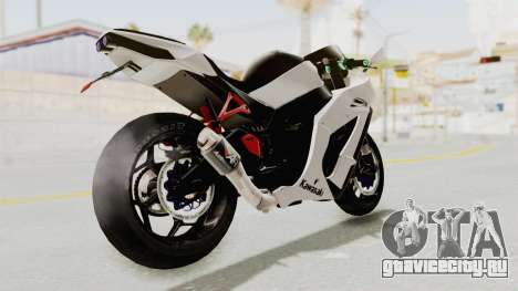 Kawasaki Ninja ZX-10R Modification для GTA San Andreas вид слева