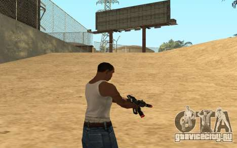 M4 Cyrex для GTA San Andreas шестой скриншот