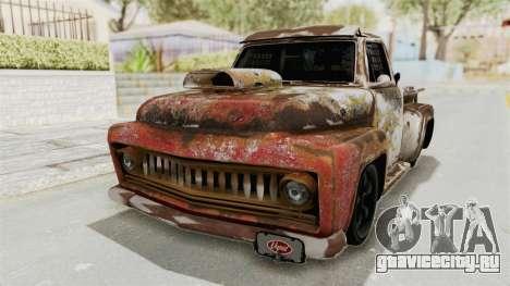 GTA 5 Slamvan Race PJ2 для GTA San Andreas вид сзади
