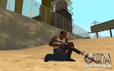 M4 Cyrex для GTA San Andreas восьмой скриншот